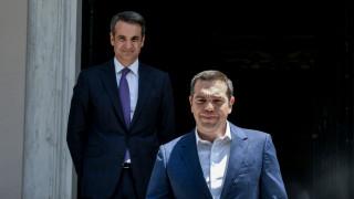 Αποτελέσματα εκλογών 2019: Οι τελευταίες στιγμές του Αλέξη Τσίπρα στο Μέγαρο Μαξίμου
