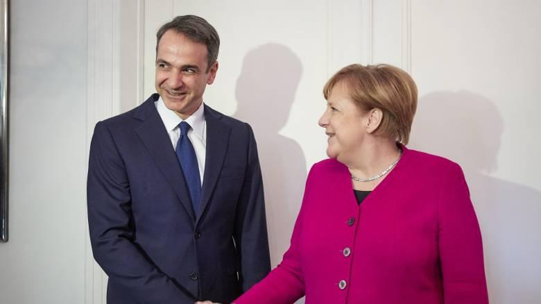 Συγχαρητήρια της Μέρκελ στον Κυριάκο Μητσοτάκη για την εκλογική του νίκη