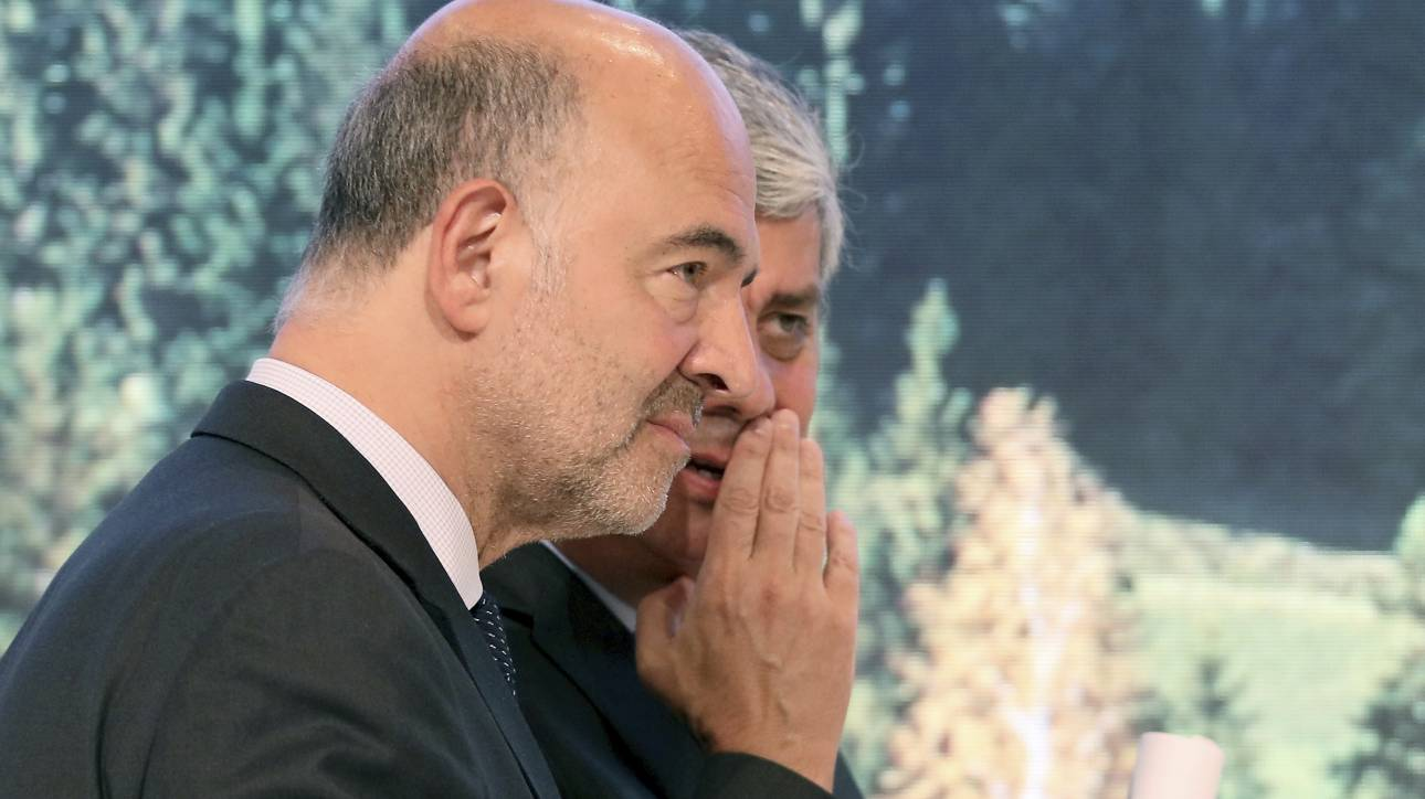 Χαμηλούς τόνους για την Ελλάδα από Σεντένο και Μοσκοβισί