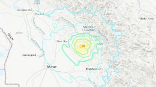 Σεισμός στο Ιράν: Ένας νεκρός, δεκάδες τραυματίες και ζημιές σε κτήρια
