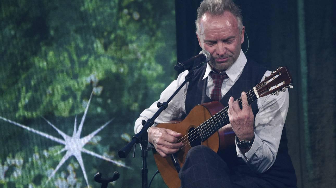 Ακυρώθηκε για λόγους υγείας η συναυλία του Στινγκ στη Γάνδη