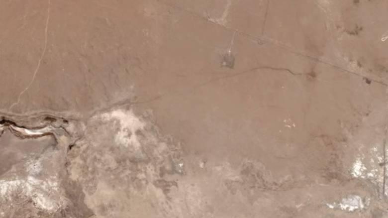 Συγκλονιστικές εικόνες από το διάστημα: Ο σεισμός των 7,1 Ρίχτερ στην Καλιφόρνια «σημάδεψε» τη Γη