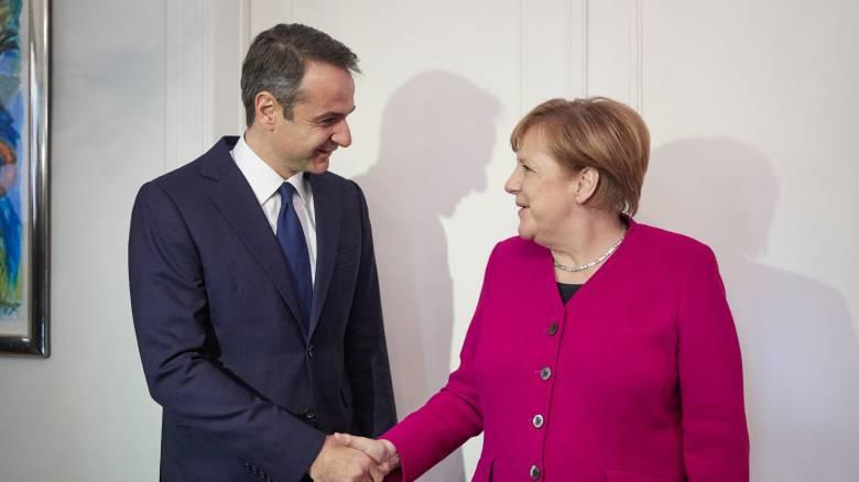 Στο Βερολίνο τον Αύγουστο μετά από πρόσκληση της Μέρκελ ο Μητσοτάκης