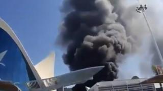 L'Oceanogràfic: Στις φλόγες το μεγαλύτερο ενυδρείο της Ευρώπης