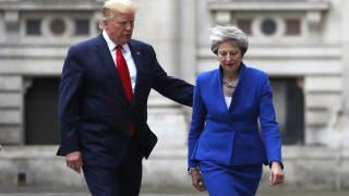 Δεν υπάρχουν σχέδια για συνομιλίες Μέι - Τραμπ για την κλιμακούμενη διπλωματική διένεξη