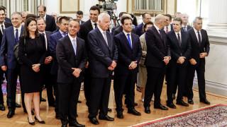 Στις 11:00 το πρωί της Τετάρτης η πρώτη συνεδρίαση του υπουργικού συμβουλίου