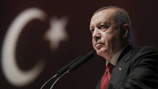 Ερντογάν: Η Τουρκία κάνει βήματα για την υπεράσπιση των δικαιωμάτων των Τουρκοκυπρίων
