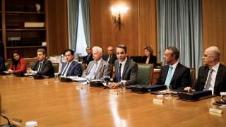 Συνάντηση Μητοστάκη-Χρυσοχοΐδη: Προτεραιότητα της κυβέρνησης η καταπολέμηση της εγκληματικότητας