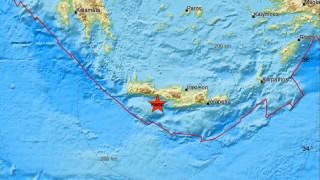 Σεισμός ΤΩΡΑ νότια της Κρήτης - Αισθητός σε πολλές περιοχές