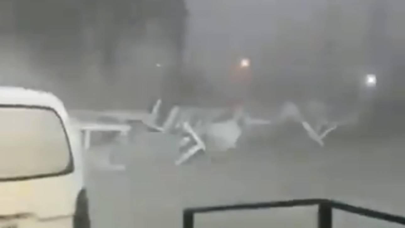 Βίντεο: Θυελλώδεις άνεμοι άνω των 100 χιλιομέτρων ανά ώρα έπληξαν τη Φλώρινα