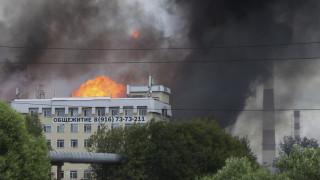 Ρωσία: Φονική πυρκαγιά σε θερμοηλεκτρικό σταθμό