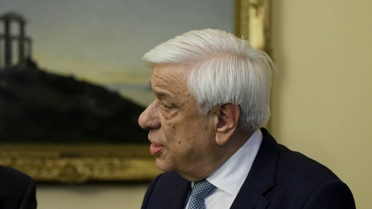 Παυλόπουλος: Εκφράζω την οδύνη μου για τα θύματα της καταστροφικής κακοκαιρίας στη Χαλκιδική