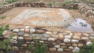 Κακοκαιρία στη Χαλκιδική: Ζημιές στον αρχαιολογικό χώρο της Ολύνθου και σε βυζαντινά μνημεία