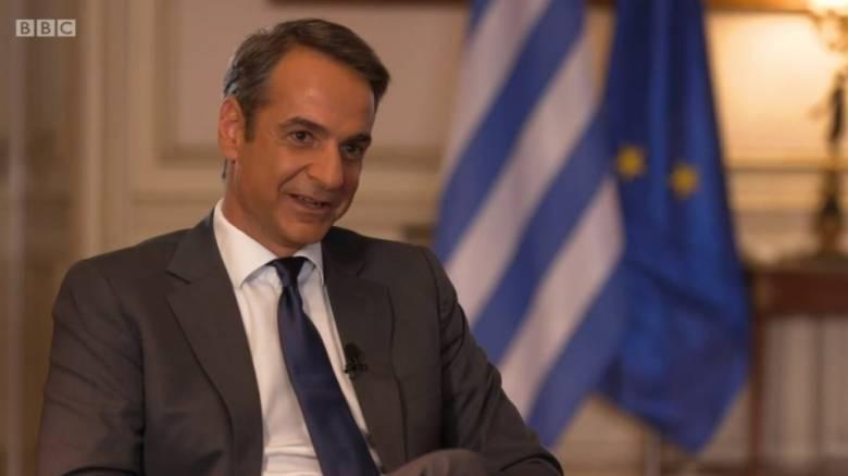 Ο Μητσοτάκης εξηγεί στο BBC γιατί υπάρχουν μόνο πέντε γυναίκες στην κυβέρνηση