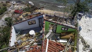Φονική κακοκαιρία στη Χαλκιδική: Προσπάθειες για αποκατάσταση της ηλεκτροδότησης στο επόμενο 24ωρο