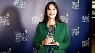 Συνεργασία του Παγκόσμιου Οργανισμού Ταξιδίων και Τουρισμού (WTTC) με την Έλενα Κουντουρά