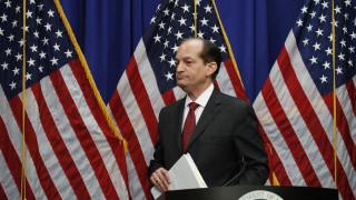 Εμπολοκή του υπουργού Εργασίας των ΗΠΑ στο σκάνδαλο Επστάιν - Ανακοίνωσε την παραίτησή του