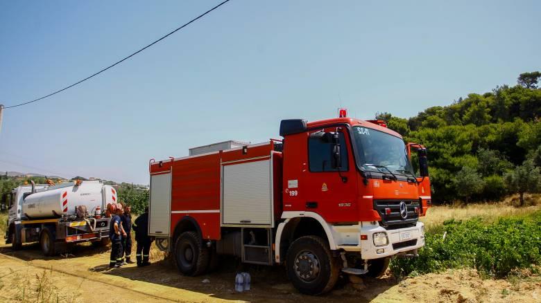 Συναγερμός στην Πυροσβεστική: Πυρκαγιά στη Λευκάδα
