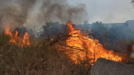 Πυρκαγιά στη Ρόδο