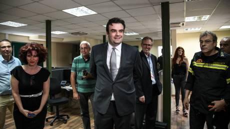 Πιερρακάκης: Το 112 οφείλει να λειτουργεί μέχρι το τέλος του έτους