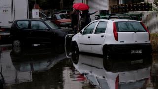 Εικόνες καταστροφής στη Ναυπακτία λόγω της σφοδρής κακοκαιρίας