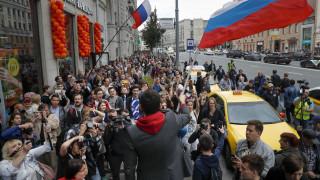 Μόσχα: Συλλήψεις αντιπολιτευόμενων σε διαδήλωση με αίτημα «δίκαιες εκλογές»