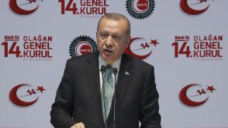 Ερντογάν: Η Τουρκία δεν ιδρύθηκε έπειτα από πόλεμο με μια μικρή χώρα, όπως η Ελλάδα