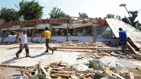 Χαλκιδική: Συνεχίζονται οι προσπάθειες αποκατάστασης των ζημιών