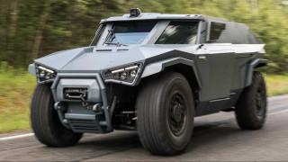 To Arguus Scarabee είναι το Hummer του ομίλου της Volvo και είναι και υβριδικό!
