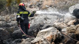 Υπό μερικό έλεγχο η φωτιά στον Ασπρόπυργο