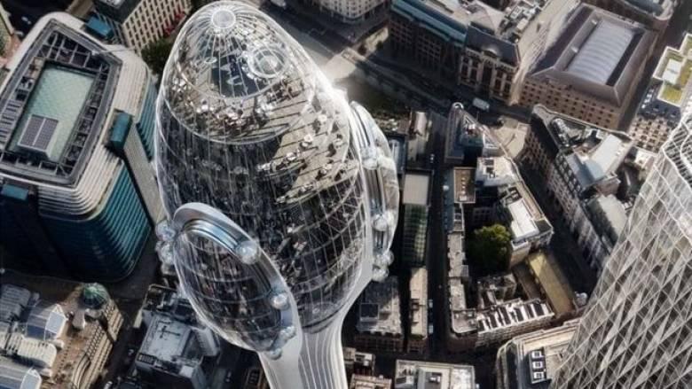 Ο δήμαρχος του Λονδίνου μπλόκαρε τη δημιουργία του ουρανοξύστη «τουλίπα»