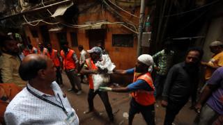 Κατέρρευσε κτήριο στην Ινδία: Νεκροί, τραυματίες και δεκάδες αγνοούμενοι