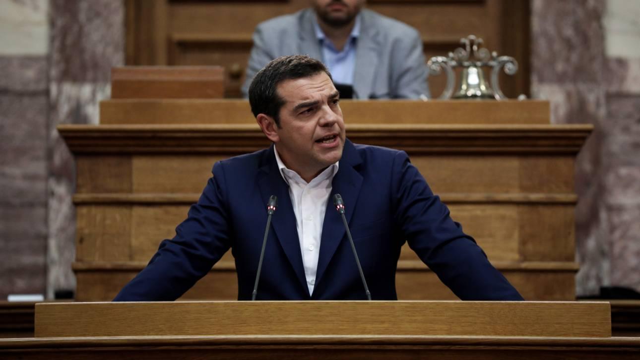 Τσίπρας στην ΚΟ του ΣΥΡΙΖΑ: Ο Μητσοτάκης λανσάρει το μοντέλο «κυβέρνηση Α.Ε.»