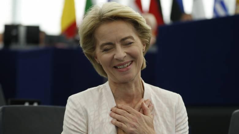 Νέα πρόεδρος της Ευρωπαϊκής Επιτροπής η Ούρσουλα φον ντερ Λάιεν