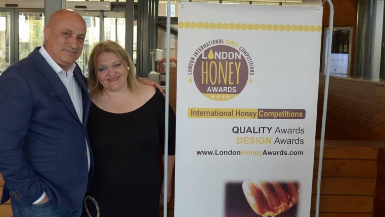 Διάκριση για Sigma Media Group στα London International Honey Awards για το μέλι Gypsy Queen