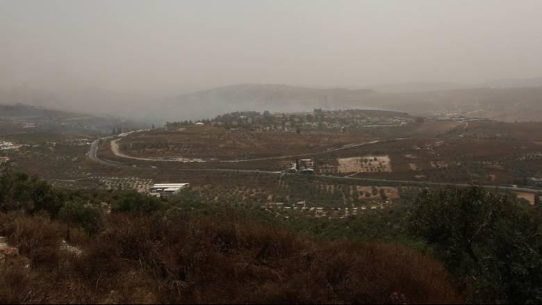 Θερμοκρασία ρεκόρ στο Ισραήλ την ώρα που μαίνονται πυρκαγιές - Κοντά στους 50 βαθμούς ο υδράργυρος