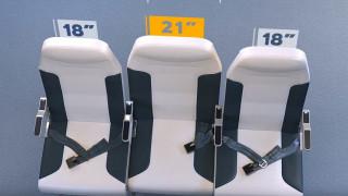 Νέο σχέδιο κάνει... επιθυμητό το μεσαίο κάθισμα της τριάδας στα αεροπλάνα!