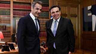 Μαργαρίτης Σχοινάς: Νιώθω βαθιά την ευθύνη στους ώμους μου