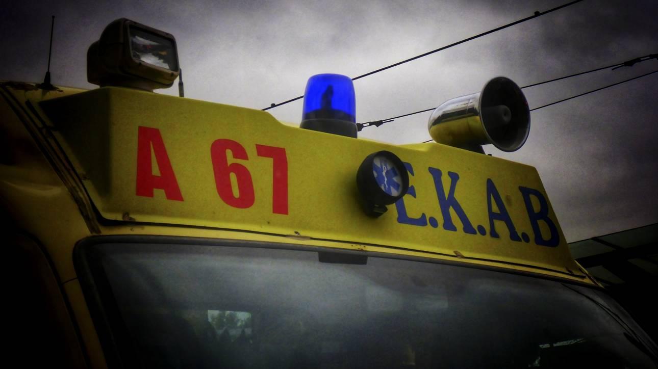 Σύγκρουση τρένου με φορτηγό στην Φλώρινα με τραυματίες