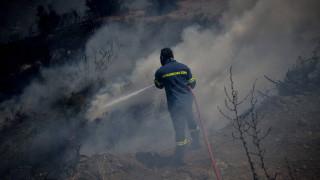 Μαίνεται η πυρκαγιά στον Κιθαιρώνα Αττικής - Ενισχύθηκαν οι πυροσβεστικές δυνάμεις