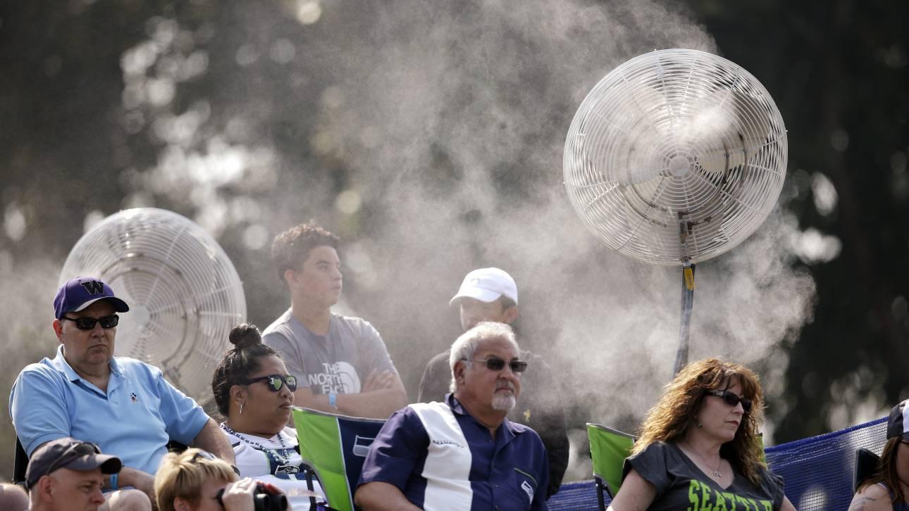 «Βράζουν» ΗΠΑ και Καναδάς: 150 εκατομμύρια άνθρωποι στο έλεος του καύσωνα