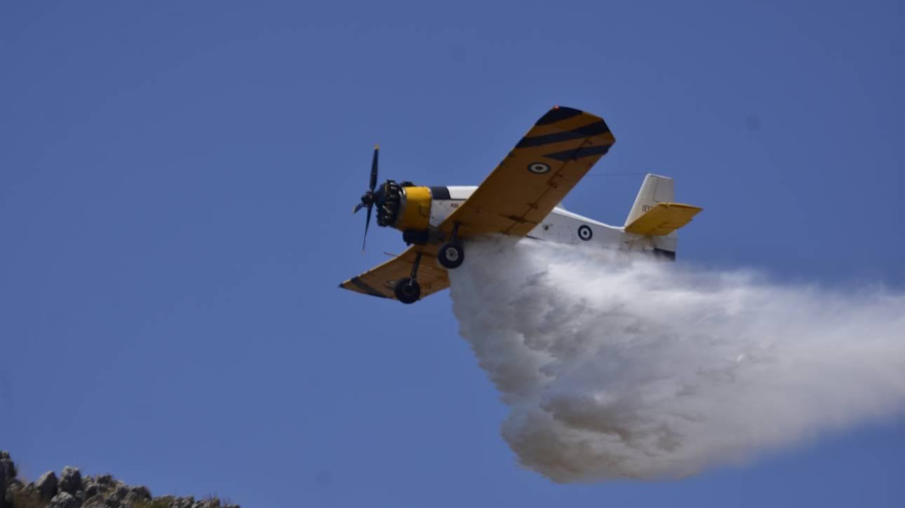 Φωτιές σε Μυτιλήνη και Ιωάννινα