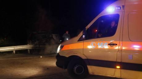 Τροχαίο ατύχημα στο Ηράκλειο: Απεγκλωβισμός οικογένειας με δύο ανήλικα παιδιά