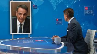 Μητσοτάκης στο CNNi: Εστιάσαμε στα προβλήματα που απασχολούν πραγματικά τους πολίτες