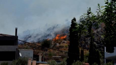 Φωτιά - Ιωάννινα: Διπλό μέτωπο σε Καστρίτσα και Κοσμηρά - Υπό μερικό έλεγχο η φωτιά στα Μέγαρα