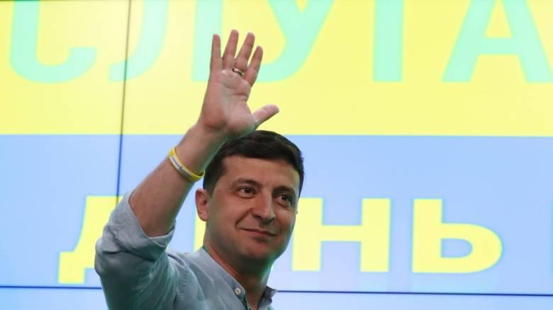 Εκλογές Ουκρανία: Επικράτηση Ζελένσκι με ρεκόρ