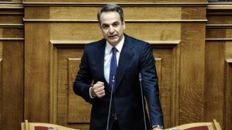 Προγραμματικές δηλώσεις - Μητσοτάκης: «Ψεύτες και λαϊκιστές σας είπε η πλειοψηφία»
