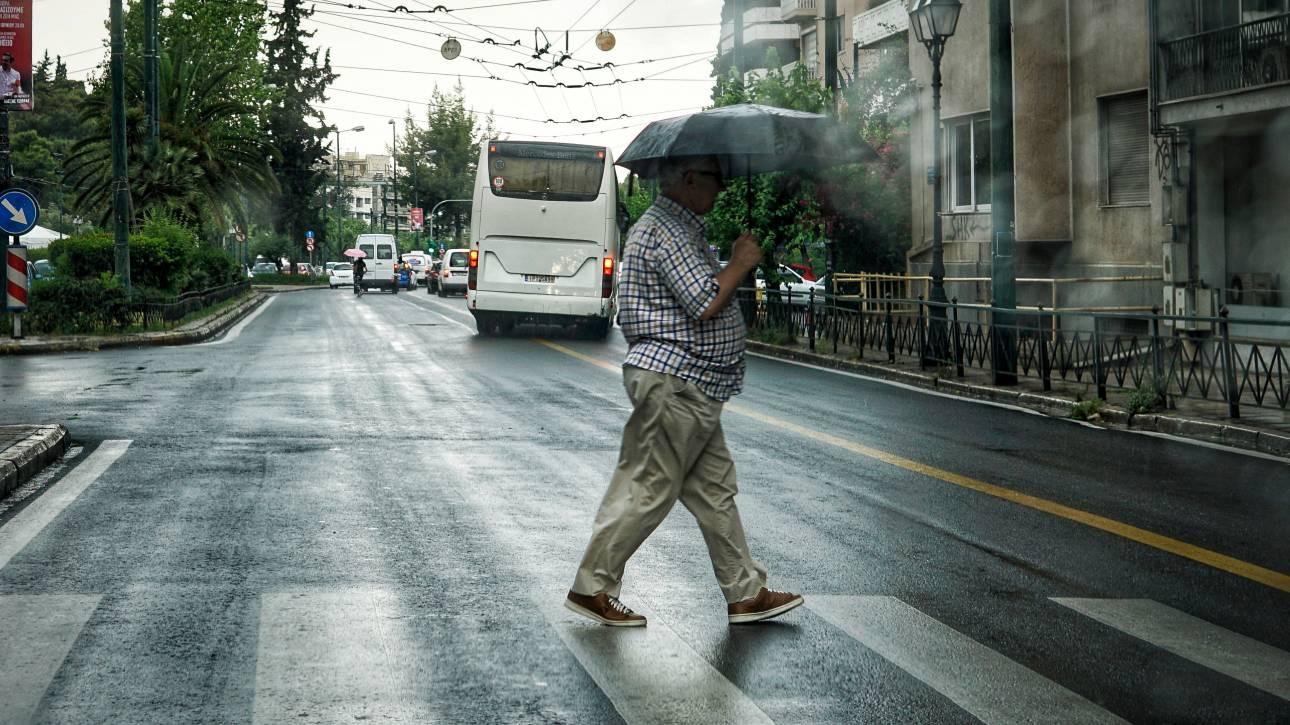 Καιρός: Έρχονται βροχές και καταιγίδες - Πού θα «χτυπήσουν»