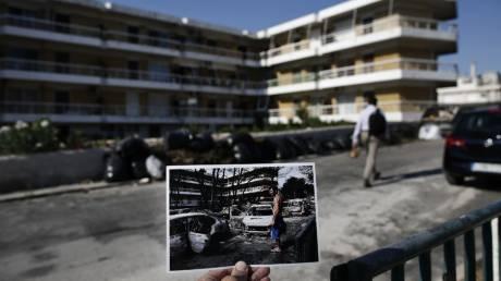 Τραγωδία και ελπίδα στο Μάτι: Το «πριν» και το «μετά» σε μία φωτογραφία