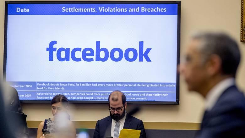 Πρόστιμο - μαμούθ: «Καμπάνα» 5 δισ. δολ. στο Facebook για παραβάσεις περί προσωπικών δεδομένων